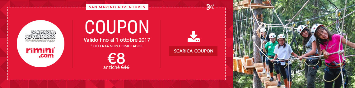 coupon sanmarino adventures