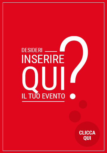 Inserisci qui il tuo evento da promuovere su Rimini.com