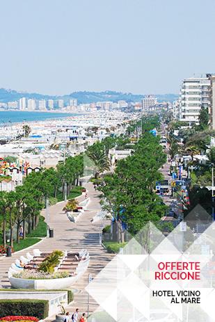 Offerte hotel per famiglie Riccione vicino al mare