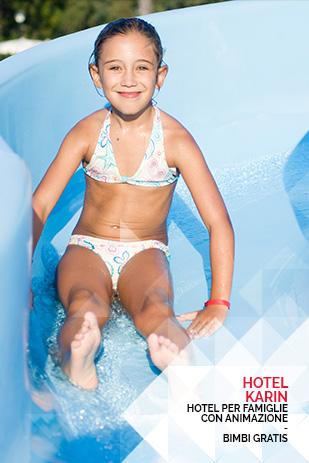 hotel per famiglie rimini con animazione per bambini in pensione completa