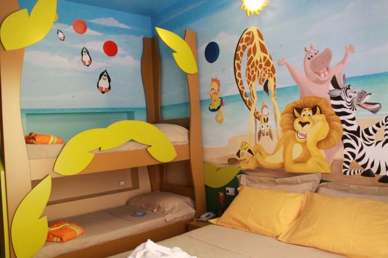 Hotel giorg e mini hotel a miramare rimini - Hotel con camere a tema milano ...