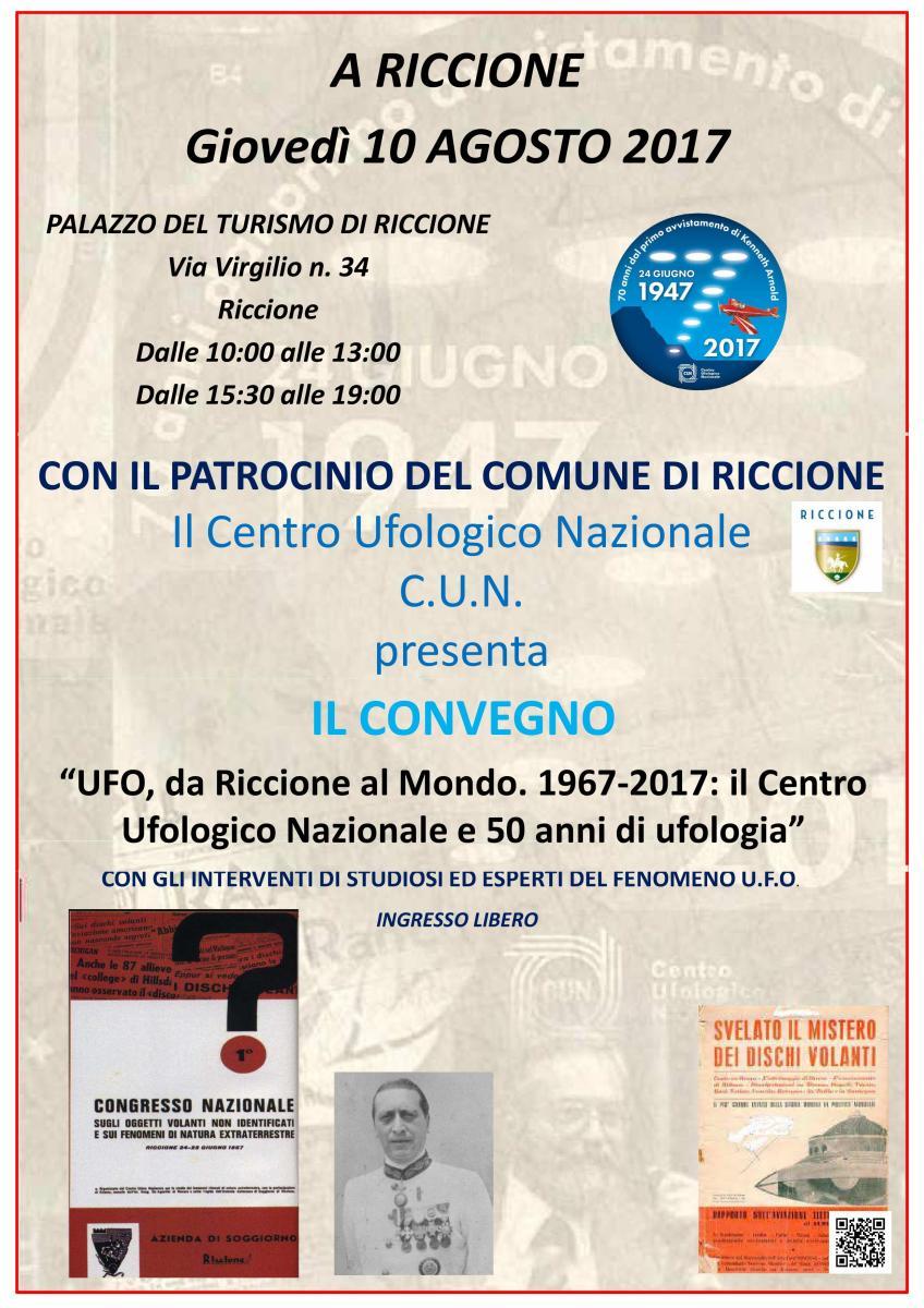 UFO, da Riccione al mondo - Congressi e seminari - Riccione