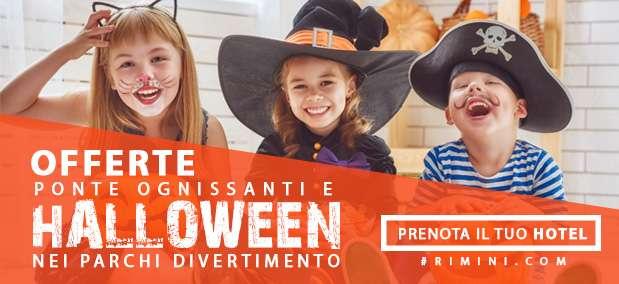 offerte per halloween e ponte ognissanti a rimini, hotel aperti per il ponte 1 novembre a rimini e riviera romagnola