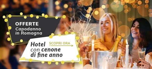 offerte capodanno rimini riviera romagnola con cenone musica balli animazione e bimbi gratis