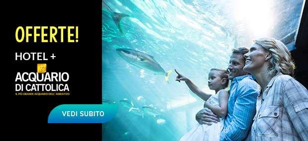offerte hotel rimini + acquario di cattolica con bimbi gratis, pensione completa all inclusive