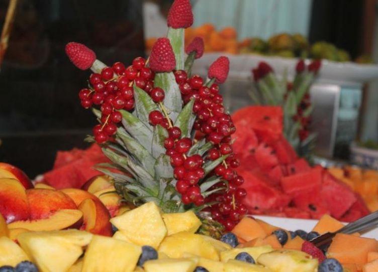 Hotel Diamond_Creazioni di frutta