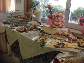 Hotel Bel Air_Buffet Interno