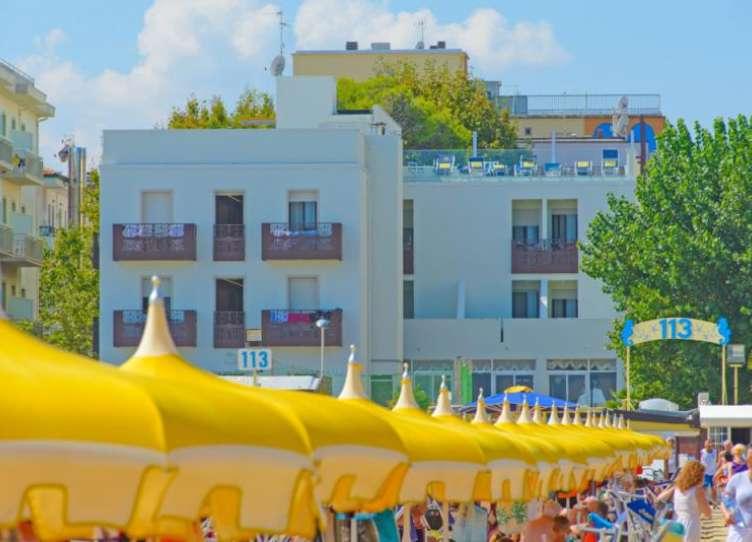 hotel rimini sulla spiaggia