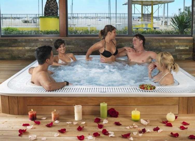 hotel rimini con centro benessere