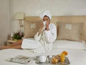 hotel relax colazione in camera