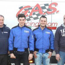 G.A.S. Racing Team nel C.I.V. con Yamaha Motor Europe filiale Italia