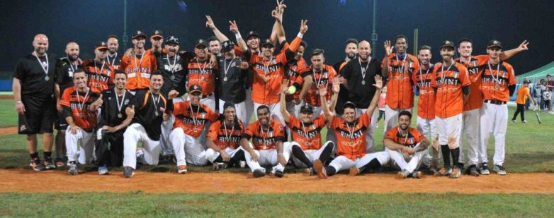 Baseball Rimini campione d'Italia