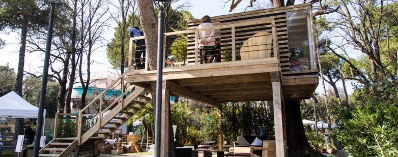 Casa sull'albero - Giardini d'Autore