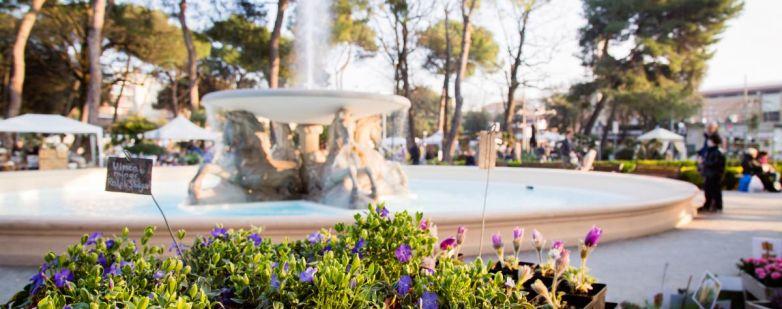 Fontana 4 cavalli - Giardini d'Autore