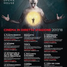 Locandina The Royal Opera House - stagione 2017 / 2018