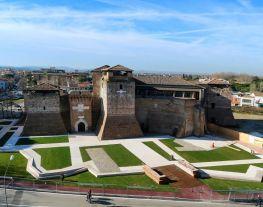 Castel Sismondo - Lato corte mare - 2018