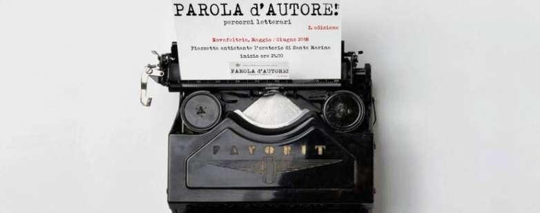 Parola d'autore 2018 Rimini Novafeltria