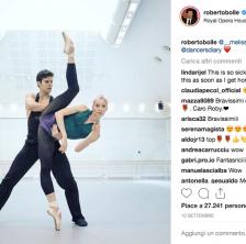 Roberto Bolle su Instagram