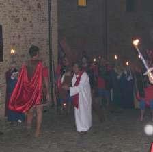 Suggestiva VIA CRUCIS storica a Montegridolfo