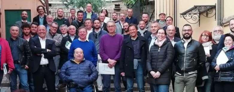 CSR Consorzio Sociale Romagnolo, Assemblea a Gradara, approvazione Bilancio, foto di gruppo