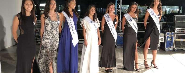 Loretta Graziani, semifinalista di Miss Mondo Italia, eletta domenica 4 agosto 2019 a Lido Adriano (RA)