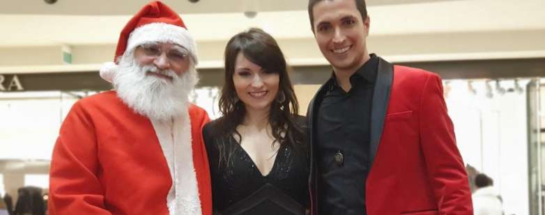 Concerto di Natale alle Befane con il duo Baldazzi-Giai e Babbo Natale