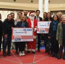 Le Befane Be Charity premiazione IOR Rimini Autismo