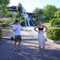 Hunziker  e Rovazzi in Aquafan 2020 - Credits Aquafan
