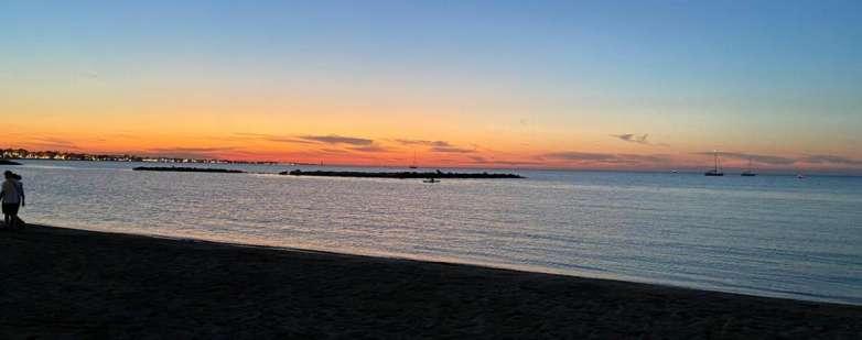 Darsena al tramonto