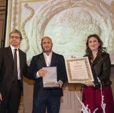 Max Sirena durante la premiazione del Sigismondo d'Oro