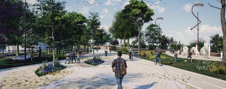 Parco del Mare - Rendering