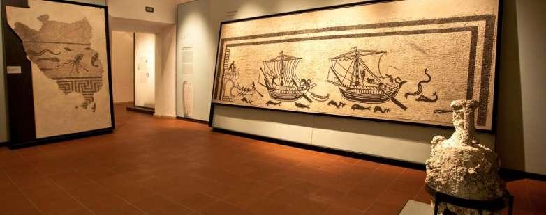 Mosaico delle barche - Musei comunali di Rimini