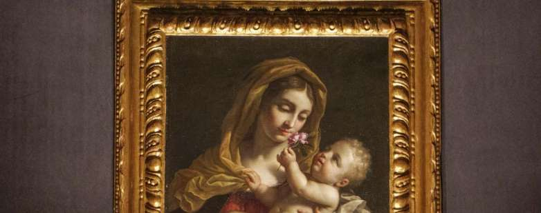 Madonna col bambino di Benedetto Gennari