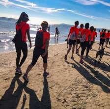 Walk on the beach (Foto prelevata da https://www.facebook.com/walkonthebeachrimini)