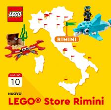 Lego apre a Rimini
