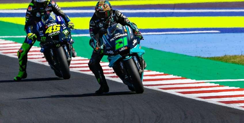 Valentino Rossi a Misano