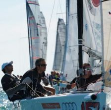 Settimo posto per  il Reggini Sailing Team all'Europeo Melges 20' di Venezia