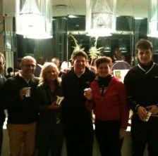I vincitori dell'Ireland Golf Tournamente e del XXIII Trofeo ALT