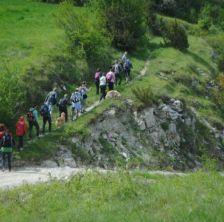 A Passo d'Uomo: camminata in Valconca con partenza da Mondaino