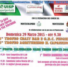 Podistica a Montescudo: il 1° trofeo Crazy Bar e G.B.C. Funghi