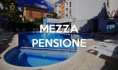 Offerta mezza pensione Rimini