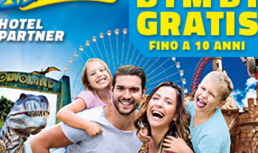 1 maggio a Mirabilandia con bambini gratis al parco